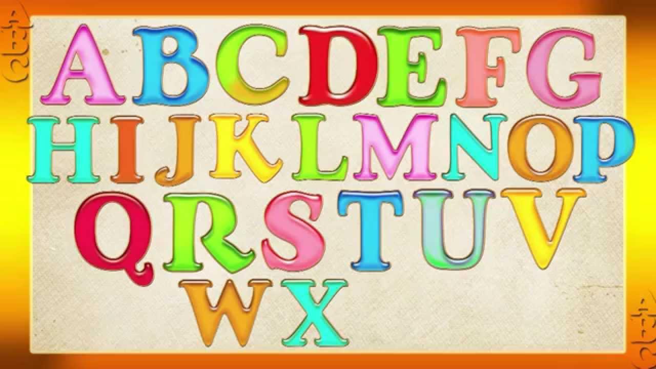 Английский алфавит видео фото 132-971