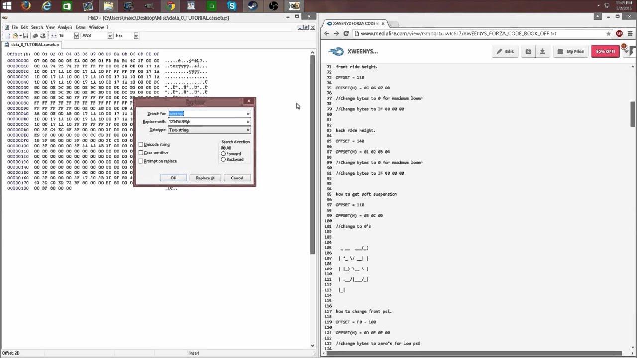 Mcla Hxd Code Book