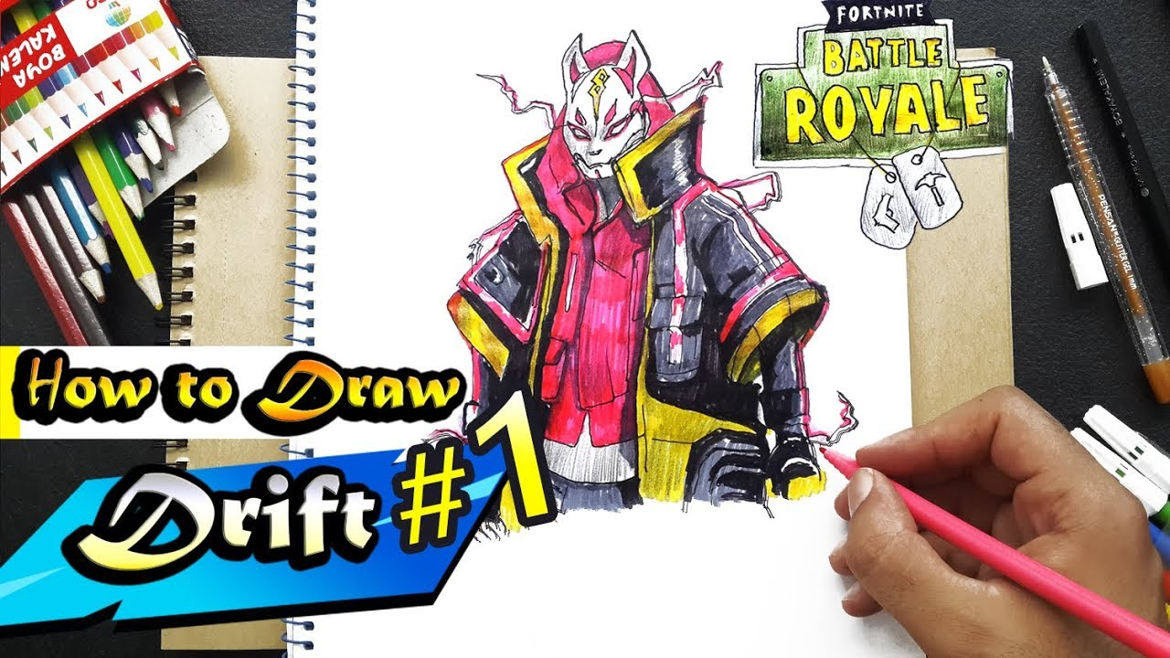 How To Draw Drift Max Level Fortnite Youtube