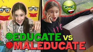 EDUCATI vs MALEDUCATI  - by Charlotte M.