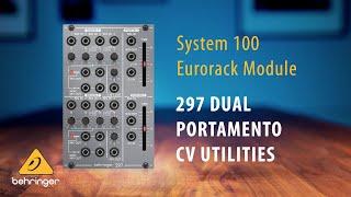 Behringer System 100 – 297 Portamento Controller and CV Utilities Eurorack Module