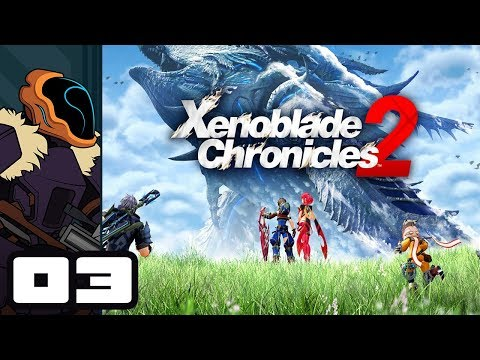 Let's Play Xenoblade Chronicles 2 - Nintendo Switch Gameplay Part 3 - Ancient Ship Of Krabbles