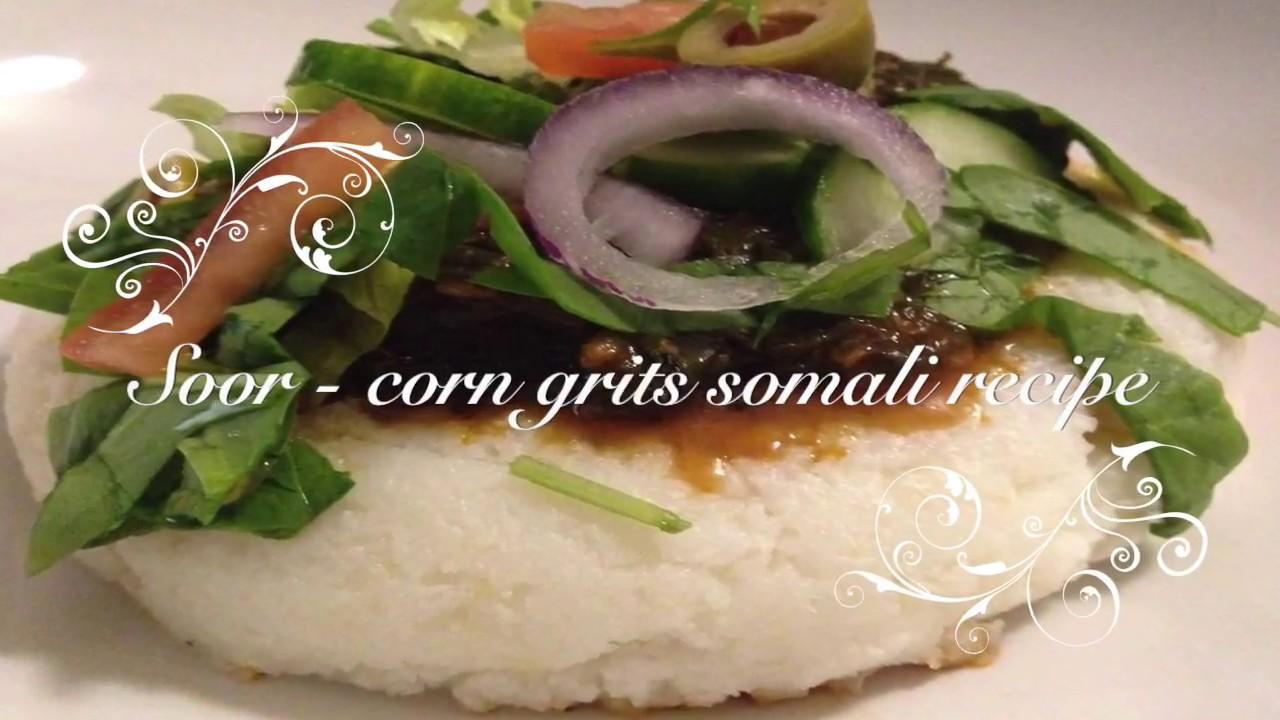 Soor corn grits somali recipe youtube soor corn grits somali recipe forumfinder Images