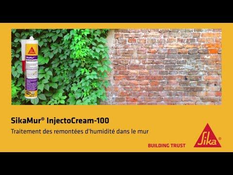 Comment Traiter Les Remontees D Humidite Dans Les Murs Sikamur Injectocream Youtube