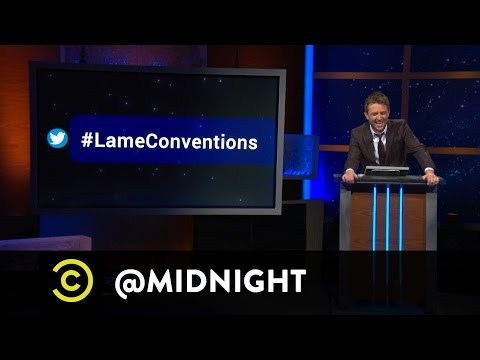 Marc Maron, Sara Schaefer, Kyle Kinane - #HashtagWars - #LameConventions - @midnight - Comedy Central  - LuCVEugBXvI -