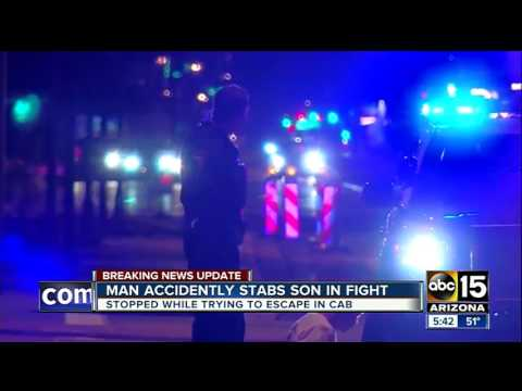 Father accidentally stabs own son in Tempe