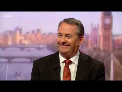 International Trade Secretary Liam Fox's full interview on The Andrew Marr Show
