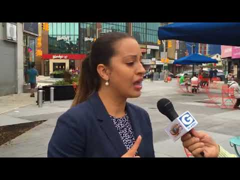 Catalina Cruz, Democrat for State Assembly (39th District), Report Manzoor Hussain