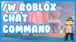 /W ROBLOX Chat Command - 3MtnBros