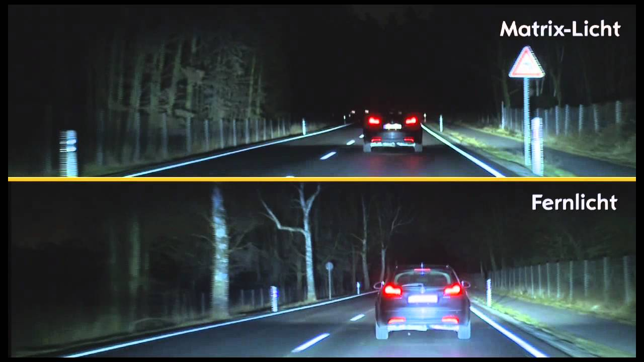 Opel LED light matrix technology introduced - YouTube