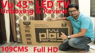 "Hindi || Vu 43"" LED TV Unboxing & Review."
