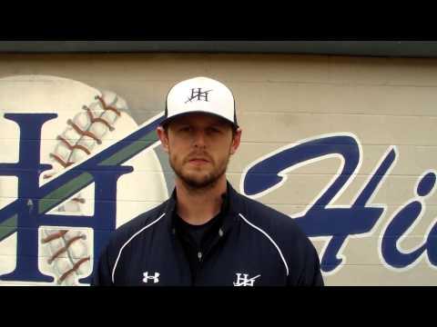 Heathwood head baseball coach Parker Bangs