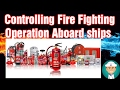 Controlling Fire Fighting Operation Aboard ships