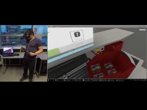 VR training: Pickcenter One, TGW Logistics Group