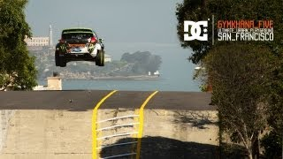 DC SHOES: KEN BLOCK'S GYMKHANA FIVE: ULTIMATE URBAN PLAYGROUND; SAN FRANCISCO(DC and Ken Block present Gymkhana FIVE: Ultimate Urban Playground; San Francisco. Shot on the actual streets of San Francisco, California, GYM5 features a ..., 2012-07-09T13:47:27.000Z)