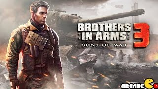Brothers in Arms 3: Sons of War First Update Trailer (By Gameloft) iOS/Android