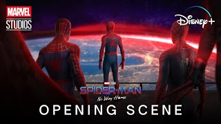 #tomholland #andrewgarfield #tobeymaguirehere's our extended opening scene concept for marvel studios' upcoming crossover movie spider-man: no way home (2021...
