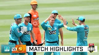 Heat advance to BBL Finals with thrilling win over Scorchers | KFC BBL|10