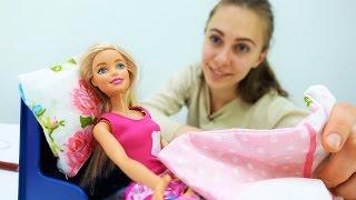 Шьем постельное белье для Барби. Поделки своими руками
