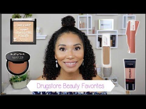 2018 Drugstore Favorites!