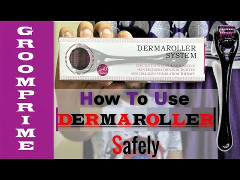 How to use Derma Roller |☆| Everything about Derma roller in Details |☆| Hindi [GroomPrime]