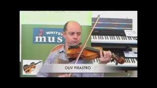 Compare os sons das principais cordas de violino no mercado (PIRASTRO - THOMASTIK)