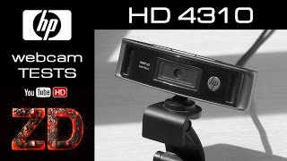 Тестирование вэб камеры HP HD 4310