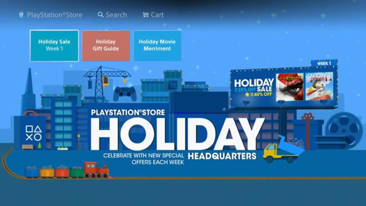 Holiday deals for next week