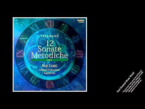 Telemann: 12 Sonate Metodiche vol.1