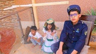الشرطي دخل الاميرة السجن .!!