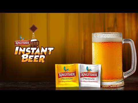 Introducing Kingfisher Instant Beer | Best Beer Anytime, Anywhere | Cheers!