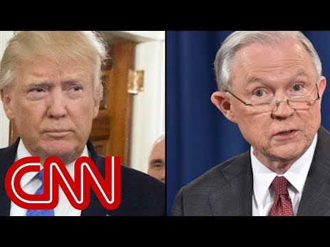 Trump slams Sessions over indictments of GOP lawmakers