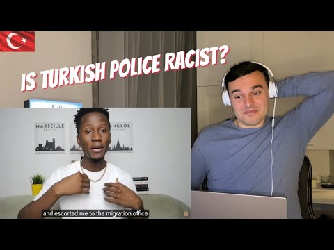 Italian Reaction to 🇹🇷 Are Turkish Police Racist against Blacks in Turkey? / Racism in Turkey‼️✊🏾✊🏾