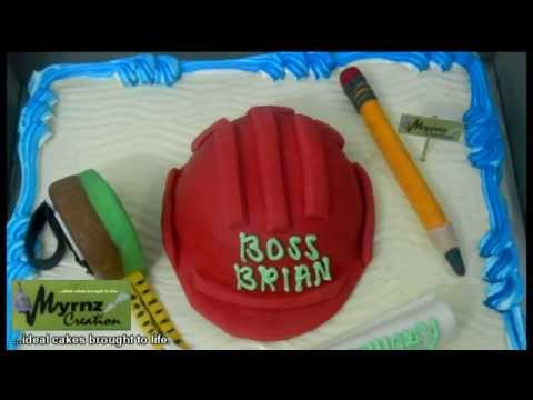 Cake Design For Civil Engineer : Myrnz Creation ...ideal cakes brought to life. Engineer s ...