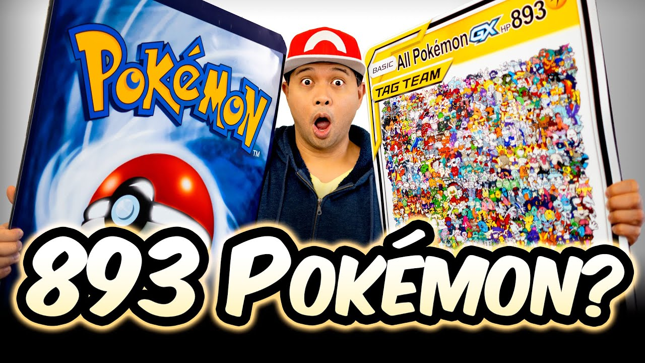 Download Drawing 893 POKÉMON in 100 HOURS? Drawing the ULTIMATE POKEMON CARD!