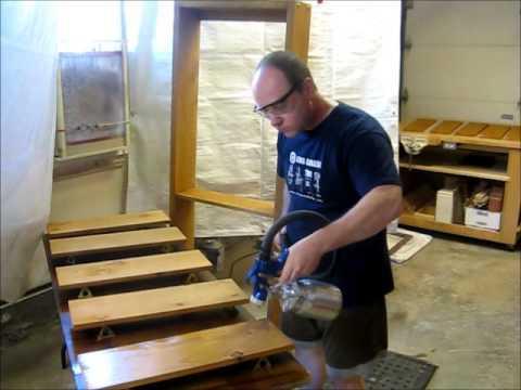 comment vernir une porte int rieure en bois avec xylade doovi. Black Bedroom Furniture Sets. Home Design Ideas