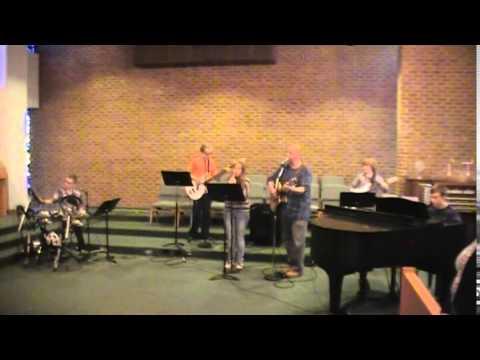 April 2015 SL First United Methodist Youth Praise Band Cornerstone service