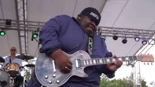 """PURPLE RAIN""  Christone ""Kingfish"" Ingram @ 2016 Winthrop Rhythm & Blues Festival 9304"