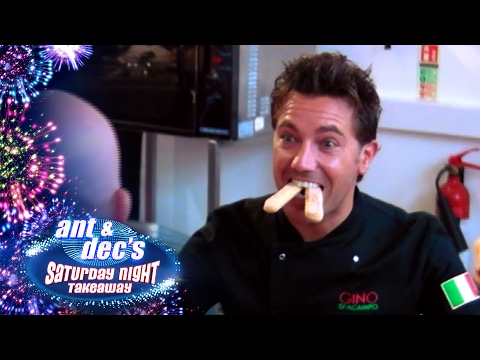 Gino D'Acampo Pretends To Be a Bat In 'Get Out Of Me Ear!' Deleted Scene - Saturday Night Takeaway