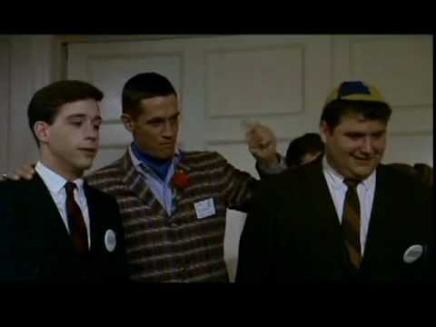 Animal House at the Omega Housewith Kevin Bacon, Pinto, and Flounder