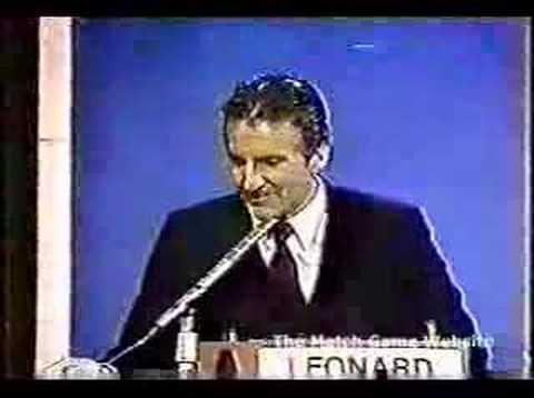 Match GameHollywood Squares Hour: Leonard Frey Dances