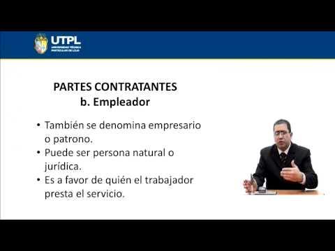UTPL CONTRATO LABORAL INDIVIDUAL DEL TRABAJO [(ÁR. ADMI.)(LEGIS. LABORAL Y SOCIAL)]