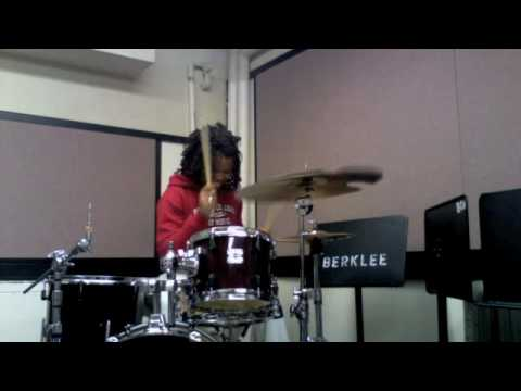 Taylor Gordon Performs a drum solo with NO toms