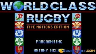 World Class Rugby: Five Nations gameplay (PC Game, 1991)