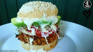 Falafel Burgers + Baked Falafel wTahini Dressing  AV Show 18