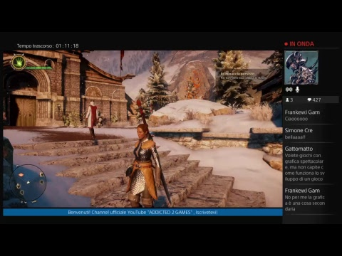 10.000 Iscritti su Dragon Age Inquisition - Live! Gameplay ITA Let's Play PS4