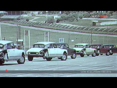 Citroën DS : 60 ans d'histoire