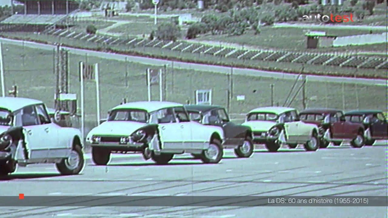 Citroën DS 60 ans d histoire