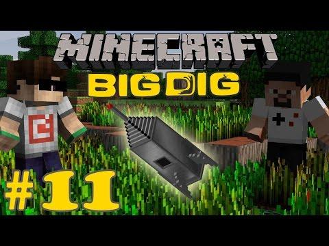 Minecraft: Big Dig #11 - UZAYA HAZIRLIK!