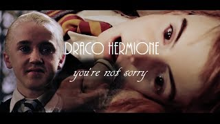 Repeat youtube video Dramione || You're Not Sorry